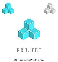 Project isometric logo