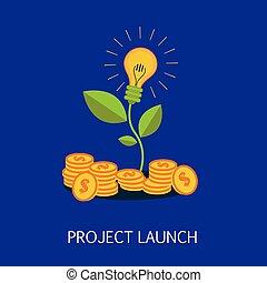 Project Launch Concept Art