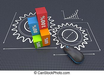 Project management - Blackprint development project as...