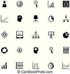Project Management icon set