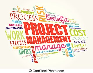 Project Management word cloud