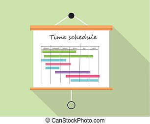 Project time schedule - Project time schedlue with ...
