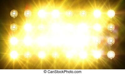 projecteurs, flash
