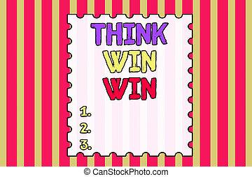 projection, écriture, showcasing, stratégie, manière, entrecouper, conceptuel, main, être, reussite, multicolore, défi, concurrence, win., gagner, photo, rayé, pattern., fond, résumé, penser affaires