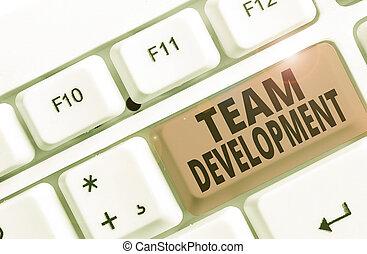 projection, conceptuel, efficacité, equipe affaires, ...