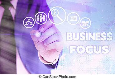 projection, note, attention, besoins, details., business, foyer., écriture, entiers, showcasing, client, photo, servir