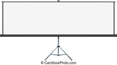 Projection widescreen