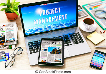 projectmanagement, concept
