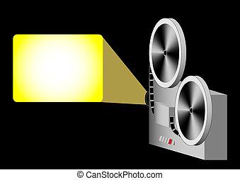 projector, bioscoop