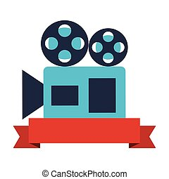 projector camera ribbon production movie film