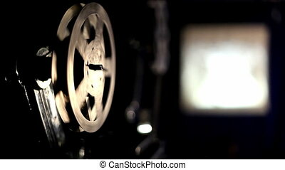 projector, film
