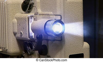 projector smoke loop - Running projector with smoke full...