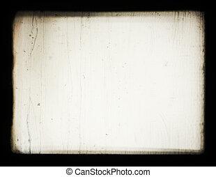 projector., viejo, proyección, optics., esto, pantalla, ...
