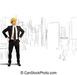projekt, architekt