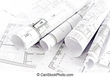 projekt, część, architektoniczny