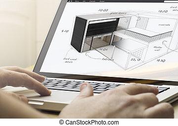 projekt, dom computing, ahouse