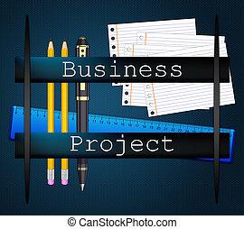 projekt, handlowy