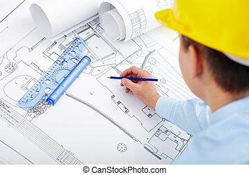 projekt, konstruktion