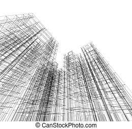 projekt, plan, abstrakcyjny