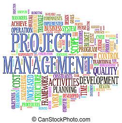 projekt, wordcloud, kierownictwo