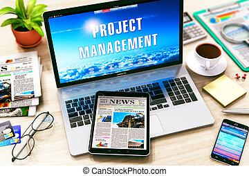 projektera företagsledning, begrepp