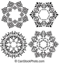 projektować, biały, element, ver, (black
