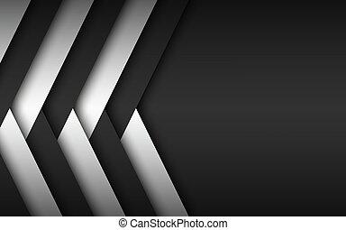 projektować, czarnoskóry, overlayed, tło, abstrakcyjny, miejsce, widescreen, wektor, tworzywo, nowoczesny, biały, twój, tekst, strzały