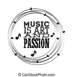 projektować, muzyczny