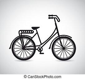 projektować, rower