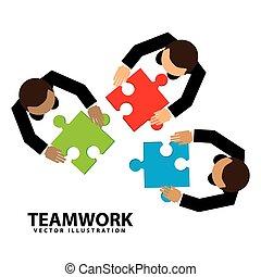projektować, teamwork