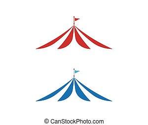 projektować, wektor, cyrk, ilustracja