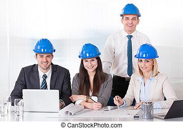 projet, architecte, fonctionnement