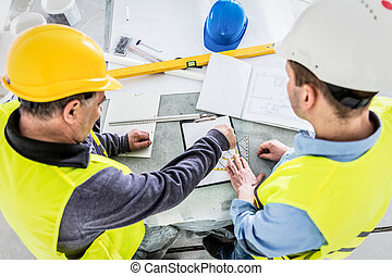 projet, construction, architecte, analysis., ingénieur