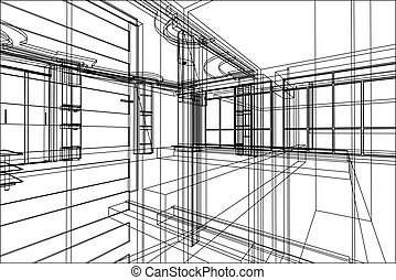 projeto abstrato, arquitetura
