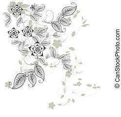 projeto floral, elemento