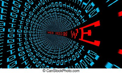 projeto teia, dados, túnel