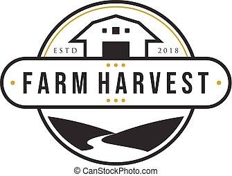 projetos, fazenda, vindima, rios, logotipo, colheita