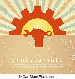 proletariate, poster