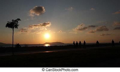 promenade at sunset 4