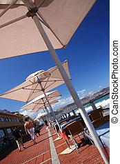 promenade, beachfront
