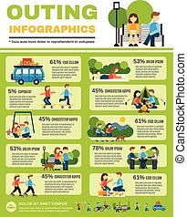promenade, ensemble, infographics