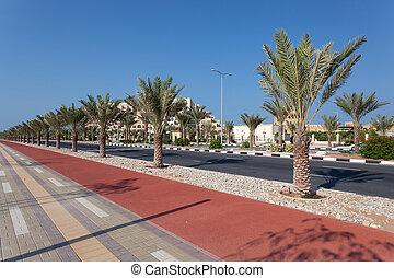 Promenade in Ras Al Khaimah, UAE