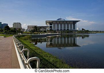 promenade, lakeside, putrajaya