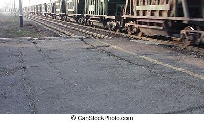 promenades, train fret, chemin fer
