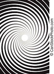 promienie, abstrakcyjny, pokręcić, tło, promieniowy,...