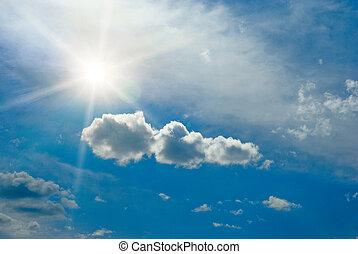 promienie słońca