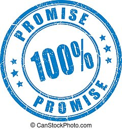 Promise rubber stamp