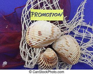 promoção, palavra
