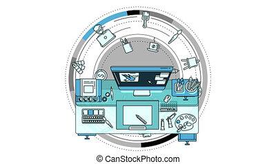 promo, alpha, animation, illustrateur, canal