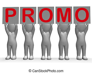 Promo Banners Showing Special Offers Discounts And Promotions